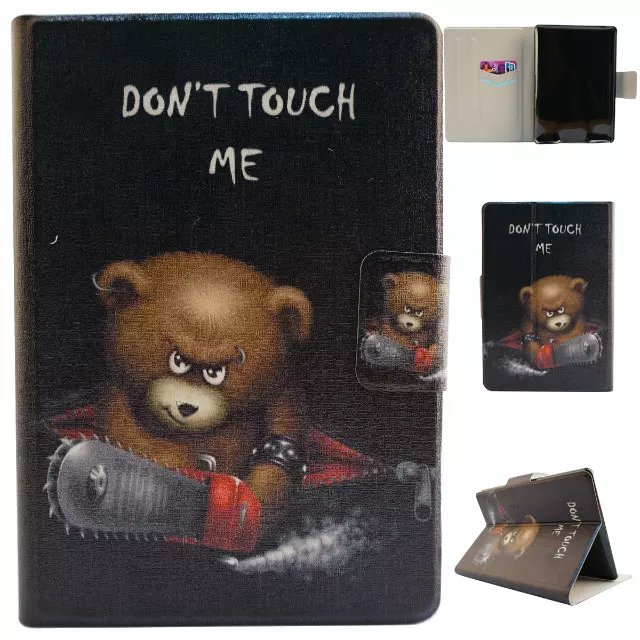 Ultra Slim Cartoon Print Stand Case Card Slot Holder Buckle Protective Cover For Amazon Kindle Paperwhite 1 2 / Paperwhite 3<br><br>Aliexpress
