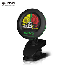 JOYO JMT-01 Clip-on Electric Tuner & Metronome Built-in Mic Color Screen for Guitar Chromatic Bass Violin Ukulele