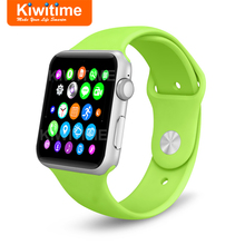 KIWITIME KT21 Bluetooth Smart Watch Connected With Camera SIM Card SmartWatch for iOS iPhone Android Phone GT08 DZ09 Apple Watch
