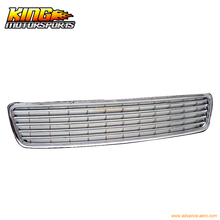For 1996-2001 97 98 99 00 Audi A4 Sport Chrome Hood Grille Grill USA Domestic Free Shipping