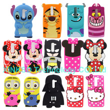 Buy Cute 3D Cartoon Sulley Minion Minnie Batman Soft Silicone Case Cover LG G4C G4 mini H525N Magna C90 Capa Silicon Phone Cases for $2.64 in AliExpress store