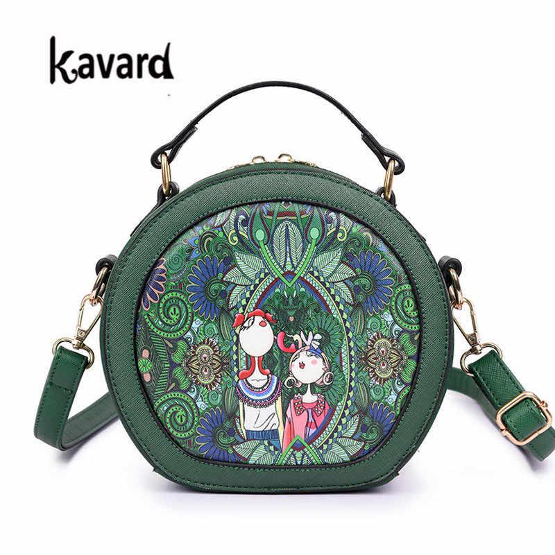 7bca127b19af Detail Feedback Questions about kavard Forest Circular bags crossbody bag  for Women Bag 2017 Designer Handbag lady hand bag bolsas Sac a main femme  de ...