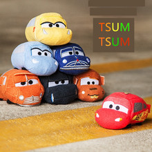 4 colors 9cm Tsum Tsum mini Plush Toy Doll TSUM TSUM plush doll toys Screen Cleaner Wiper gifts for childrens(China)