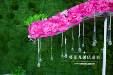 New wedding wedding props props road led wedding road lead T stage furnishing articles wave stage road the contracts(China)