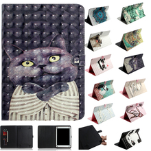 """8 inch Universal Tablet Stand Cover Huawei T3 8.0"""" Chuwi Hi 8 Color Print Wallet Case Lenovo Tab 8inch PU leather Cover"""
