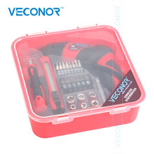 25 pcs 4.8V Ni-Cd battery powered mini electric screwdriver kit cordless power driver tool with screwdriver bit accessories(China)