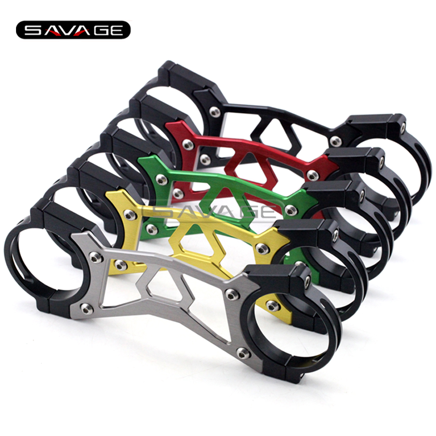 For KAWASAKI NINJA 650 12-15/ ER6F ER-6F 12-14 BALANCE SHOCK FRONT FORK BRACE Motorcycle Accessories CNC Aluminum 5 colors<br>
