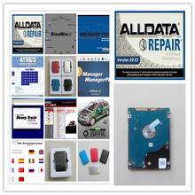 alldata 10.53 and mitchell on demand price best+vivid workshop data+elsawin 49in1 hdd 1tb auto repair software for car and truck