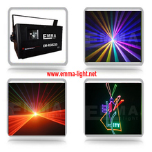 Full Color Multifunction Disco DJ Club Animation Laser Star Projector with SD Card Slot and LCD Panel, Support Sound Active