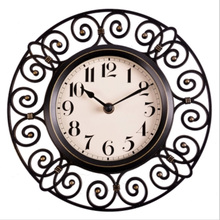 10 inch crafts vintage decorative wall clock modern design silent quartz home decoration unique wall clocks watches