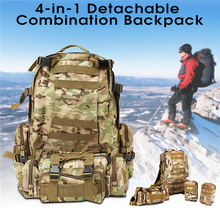 Buy Top Camping Bag Multifunction Sport Bag Molle Tactical Bag 60L Durable Camouflage Backpack Outdoor Climbing Hiking Camping for $32.00 in AliExpress store