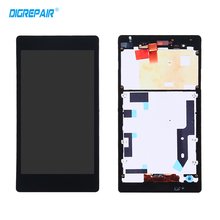 Buy Black LCD Sony Xperia T2 Ultra D5303 D5306 LCD Display Touch screen Digitizer+Bezel frame Assembly Free for $27.55 in AliExpress store