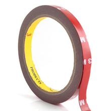Practical Auto Acrylic Foam Double Sided Attachment Tape 3M 10mm #3844(China)