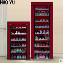 Shoe Cabinet Shoes Rack Prevent Dust And Moisture Storage Large Capacity Home Furniture DIY Simple 7 or 10 Layers(China)