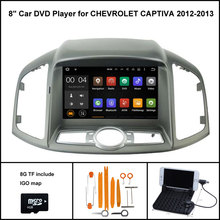 Android 5.1 Quad Core CAR DVD Player for NEW CHEVROLET CAPTIVA 2012-2013 SAT NAV+1024X600 SCREEN WIFI/3G+DSP+RDS+16GB flash