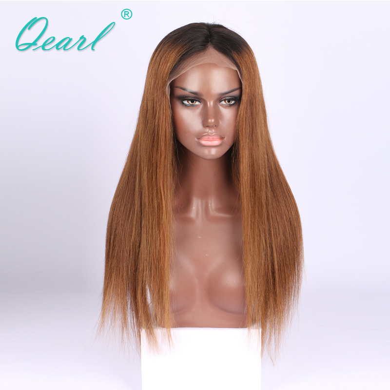 1B root Full Lace Wig