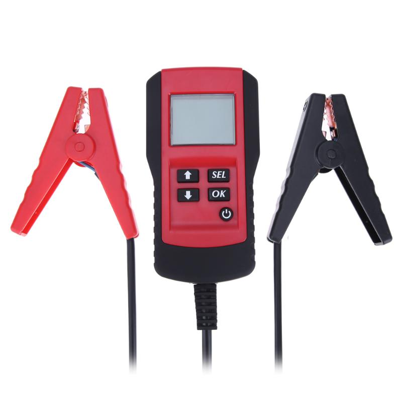 12V Car Battery Tester Ancel Digital Analyzer 12 Volt Automotive Vehicle Battery Analyzer Lead-acid Battery Scanner Tools<br>