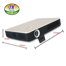 DH-3D88 3D HD Android 4.4 LED DLP Projector Sharing Touch Screen with 1080P Build-in Speaker WIFI Bluetooth 8G internal storage
