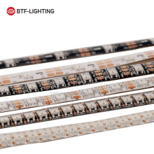WS2812B led pixel strip 1m/4m/5m 30/60/74/96/100/144 leds/pixels/m,Smart,Black/White PCB,DC5V
