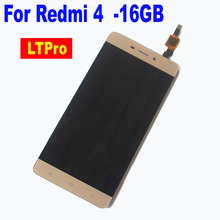 "LTPro 5.0"" TOP Quality LCD Display Touch Screen Digitizer Assembly For Redmi 4 Standard Edition 2GB RAM 16GB ROM Phone Parts"