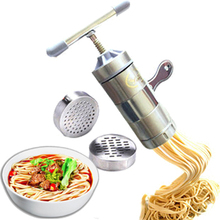 Household manual pressing machine versatile creative crowded noodle making machine free shipping