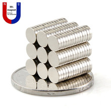 500pcs 5x1.5mm magnet 5x1.5 Super strong neo neodymium magnets D5x1.5mm, 5mmx1.5mm super poewful rare earth neo magnet dia 5*1.5