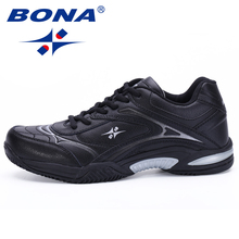 BONA New Classics Style Men Tennis Shoes Breathable Stability Sneakers Outdoor Sport Shoes Hard-Wearing Light Fast Free Shipping(China)