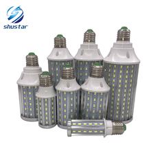 E27 E14 B22 High Power PCB Aluminum 5730 SMD LED Corn Bulb 85V-265V 10W 15W 20W 25W 30W 40W 60W 80W Flicker Lamps - shustar juxing lighting Store store