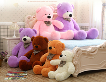 Large 1.6 Meters Teddy Bear Lovers Big bear Arms Stuffed Animals Toys Plush Doll nice gife