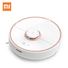 2017 Original Xiaomi Mijia Roborock Vacuum Cleaner Robot 2 Cleaning Robot 2 Mopping Sweeping Smart Phone APP Control Automatic(China)