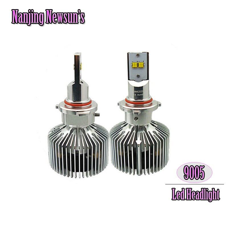 Ultra Bright Car Headlights Auto Led 9005 HB3 45W 4500Lm Headlight Conversion Kits 3000K 4000K 5000K 6000K Car Styling<br><br>Aliexpress