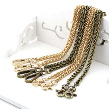 Bag Part Coin Purse Locker Pattern Rope Strap Chain Supply DIY strap chain Wallet handle purse metal chain strap bag spare parts(China)