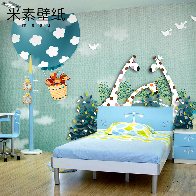 2016 M Fantasy Personality Wallpaper Painting Custom Childrens Bedroom Wall Background 3d Three-dimensional Murals Warm Ca <br><br>Aliexpress