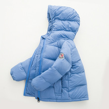 2017 Winter New Warm Boys Girls Thin Down Cotton Coat Baby Kids Spring Autumn Down Jacket Children Outwear korean baby clothes