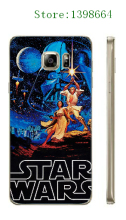 Classic Popular Movies Star Clone Wars Plastic Mobile Phone Case Cover for Samsung Galaxy S6 Edge Plus free shipping
