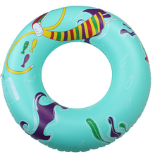 High quality 2017 Summer Pool Adults swim ring infloated lifebuoy children 4 colors inflatable rings 90cm women swimming ring(China)