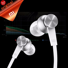 Original Xiaomi Earphones Piston Basic with Microphone Mic Handsfree Wire Control Xiaomi Piston Headset Support Noise Cancelling