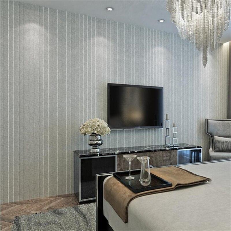 beibehang American Wallpaper Modern minimalist bronzing bamboo pattern wallpaper living room bedroom background walkway <br>