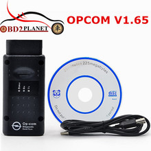 Fast Shipping Professional OBD2 OPCOM V1.65 Support Flash Update For Opel OP COM OP-COM With PIC18F458 Firmware V1.65 Auto Scan