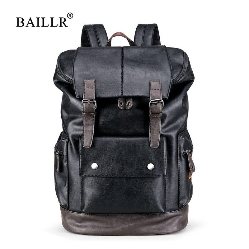 BAILLR Brand Laptop Backpack Men Women Bolsa Mochila for 14-15Inch Notebook Computer Rucksack School Bag Backpack for Teenagers<br>
