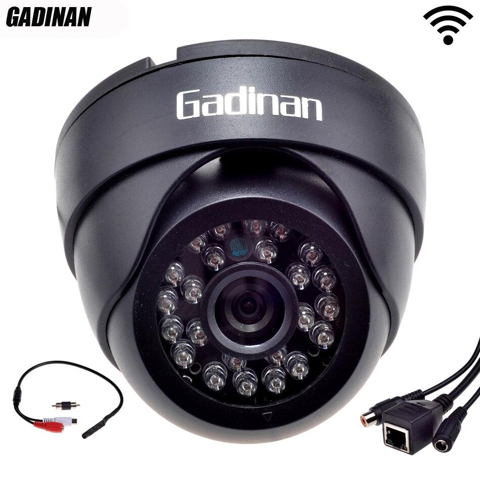 Gadinan ONVIF Wifi Audio Pickup 802.11b/g/n H.264 Network CCTV Indoor Wireless IP Camera With External 720P/960P <br>