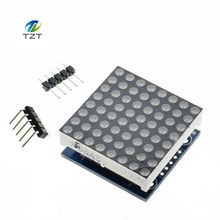 1pcs MAX7219 dot matrix module microcontroller module display module finished goods(China)