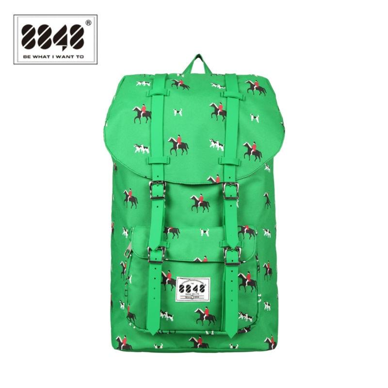 8848 Water-resistant Big Capacity Printing Backpack Women/Men Travel Bags Bolsa Mochila Grande Decoradas DYBN0014-C057<br>