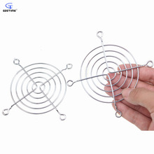 Gdstime 5 Pcs Newest Axial 80mm x 80mm CPU Cooling Fan Grill Cover Metal Wire Finger Guards 8cm Fan Iron Net High Quality