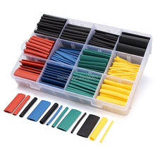 530pcs/set Heat Shrink Tubing Insulation Shrinkable Tube Assortment Electronic Polyolefin Wrap for RC Motors ESCS Soldering(China)