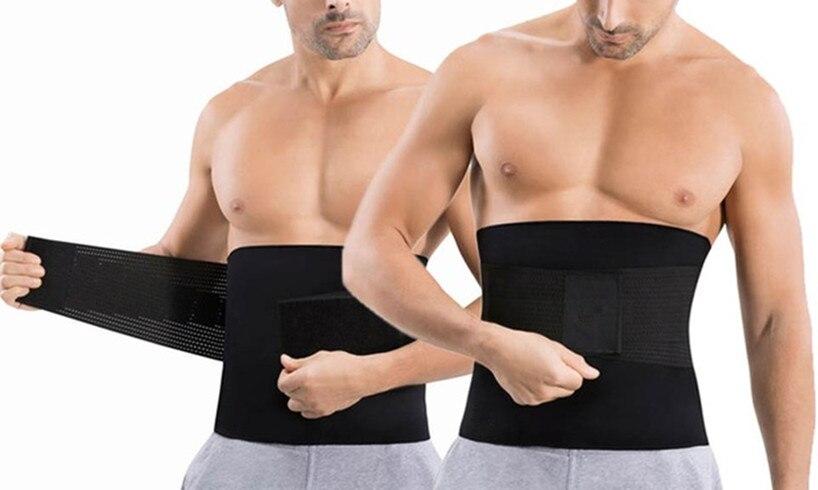 Apparel Accessories 2018 Automatic Buckle Nylon Belt Male Hot Body Shaper Belt Men Sportswear Waist Neoprene Belts Cummerbunds High Quality Belt Set