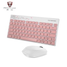 Motospeed 1600DPI 2.4GHZ Keyboard Mouse Set Lightweight for PC Laptop Computer Optical Positioning Accurate and Reliable(China)