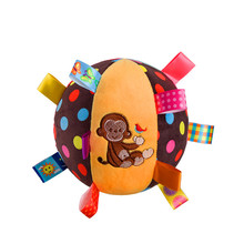 iEndyCn Baby Plush Toys Baby Puzzle Shirt Blanket Buns Bells With Color Label Newborn Lathe Hanging Toys GXY119