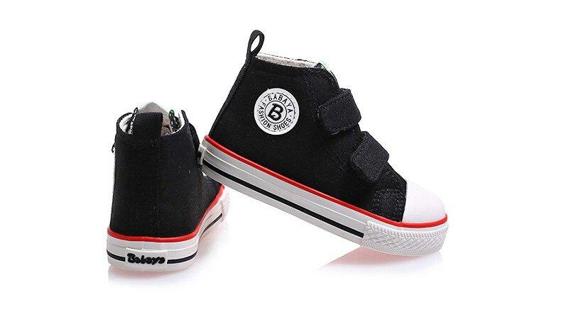 Enfants chaussures pour fille enfants toile chaussures garçons 55