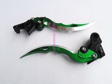 New motorbike CNC brake&Clutch Levers,Blade Style Green For Kawasaki Z750 Z 750 accessories (not Z750S model) 2004-2006 2005
